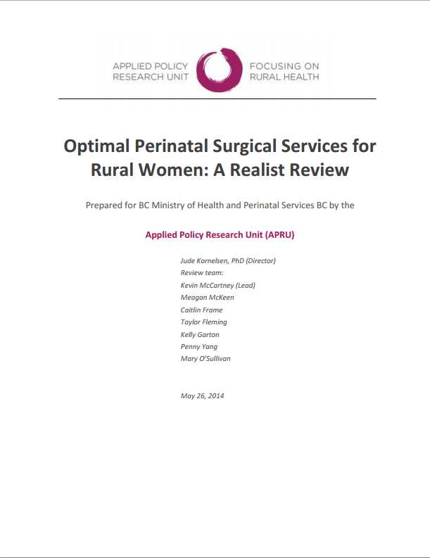 centreforruralhealthresearch.files.wordpress.com 2014 06 optimal-perinatal-surgical-services-for-rural-women_a-realist-review2.pdf